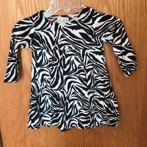 EUC girls Children's Place velour dress. Size 3T
